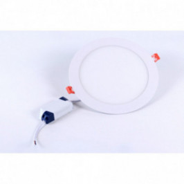 Foco LED Extraplano Redondo 22,5cm Luz Neutra