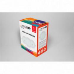 Foco LED de Superficie Redondo 22,5cm Luz Neutra