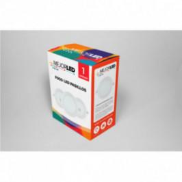 Foco LED de Superficie Redondo 22,5cm Luz Fría